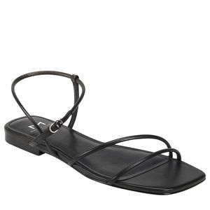 New Marc Fisher Marg Black Strappy Sandals